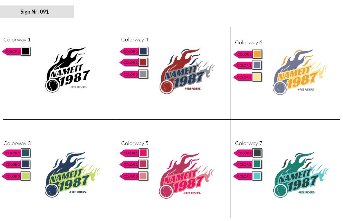 091 Make Look Branding Logo Smal Colorways 002