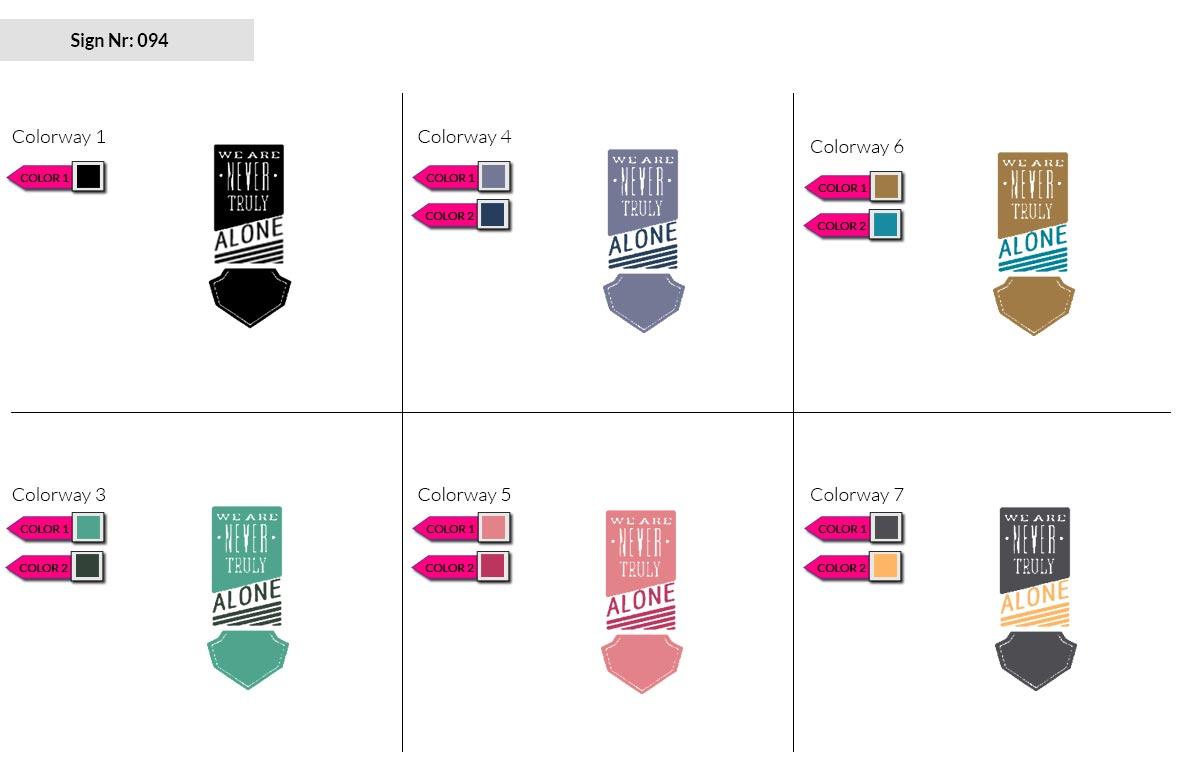 094 Make Look Branding Logo Smal Colorways 002