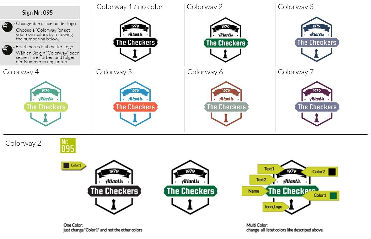 095 Make Look Branding Logo Smal Colorways 001