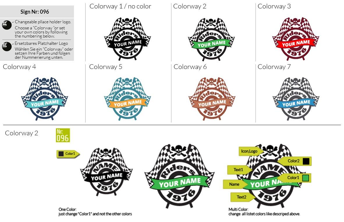 096 Make Look Branding Logo Smal Colorways 001