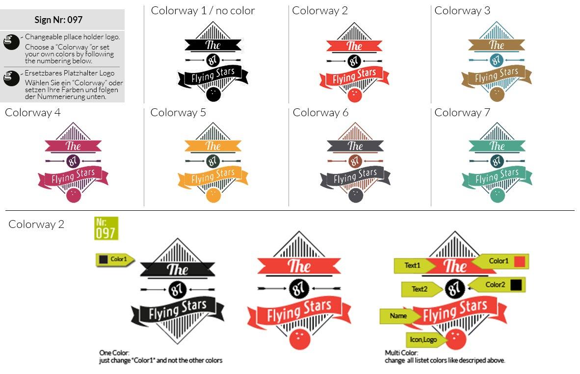 097 Make Look Branding Logo Smal Colorways 001
