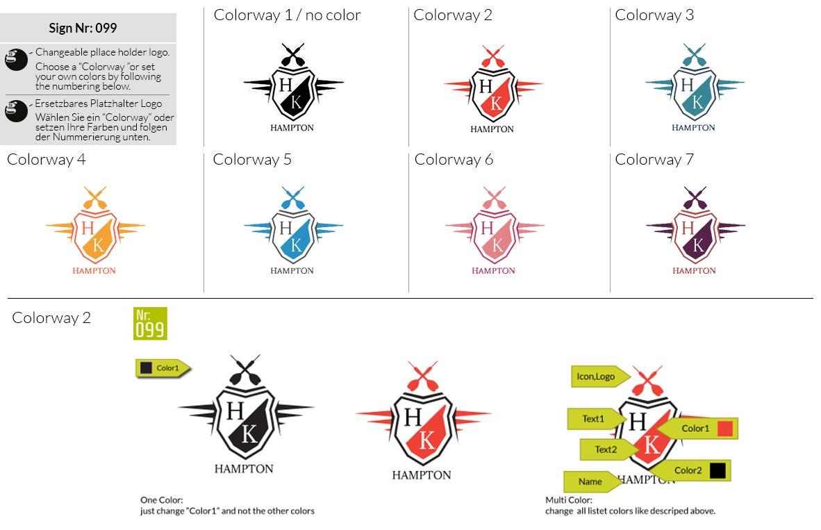 099 Make Look Branding Logo Smal Colorways 001