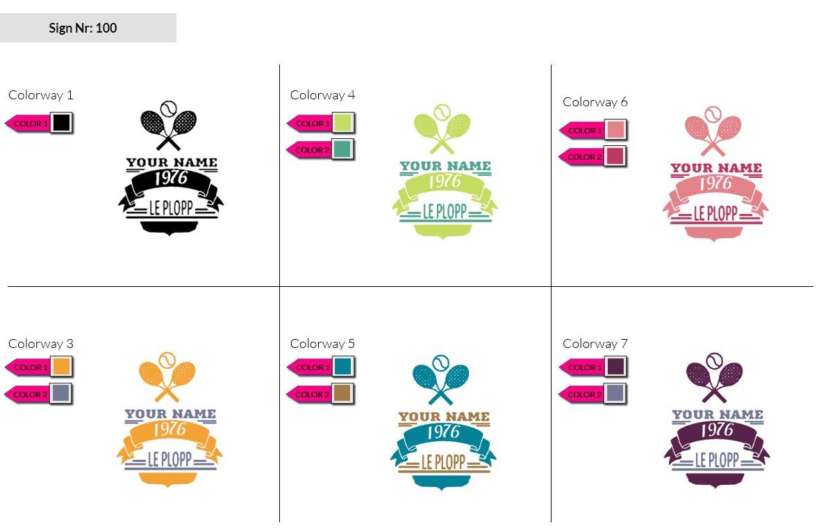 100 Make Look Branding Logo Smal Colorways 002