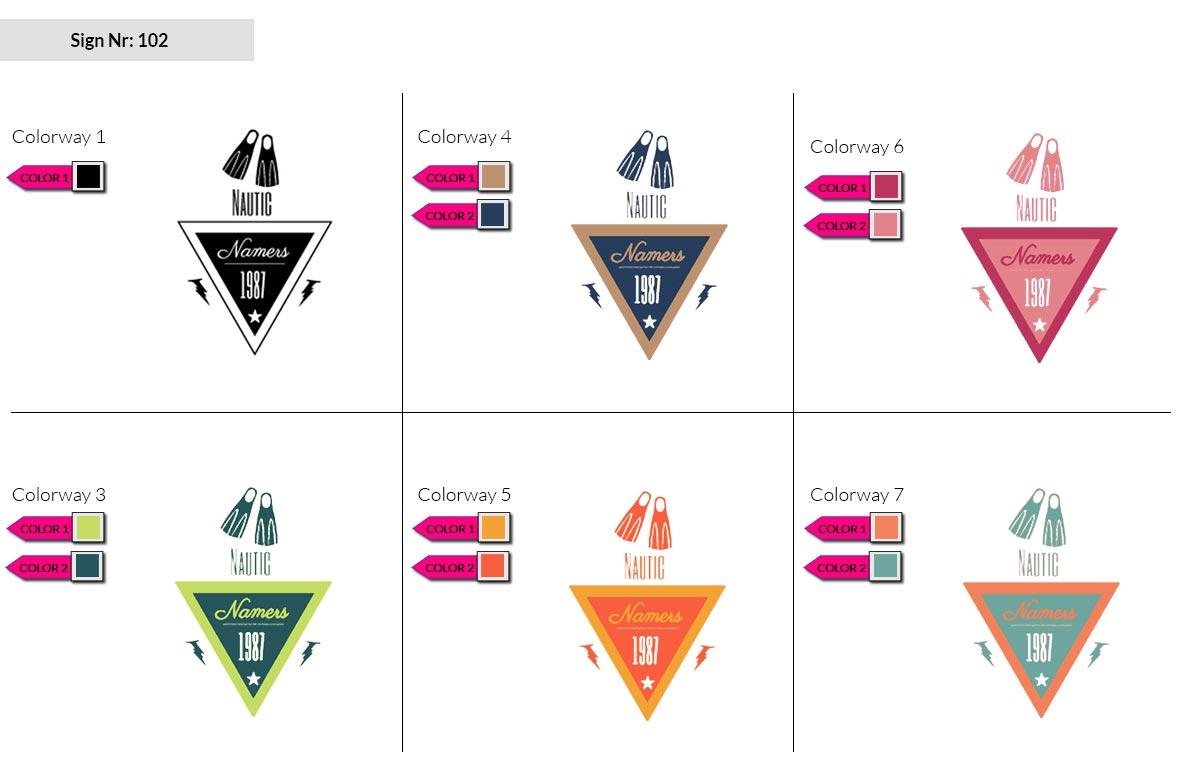 102 Make Look Branding Logo Smal Colorways 002
