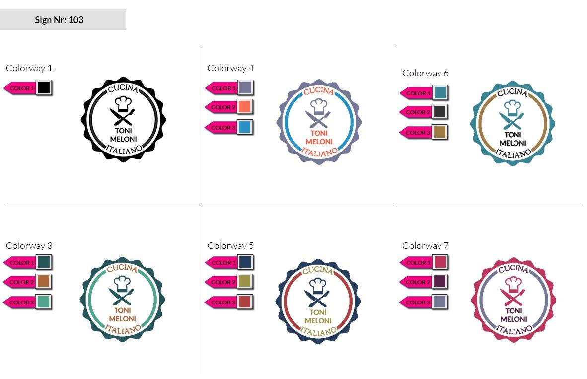 103 Make Look Branding Logo Smal Colorways 002