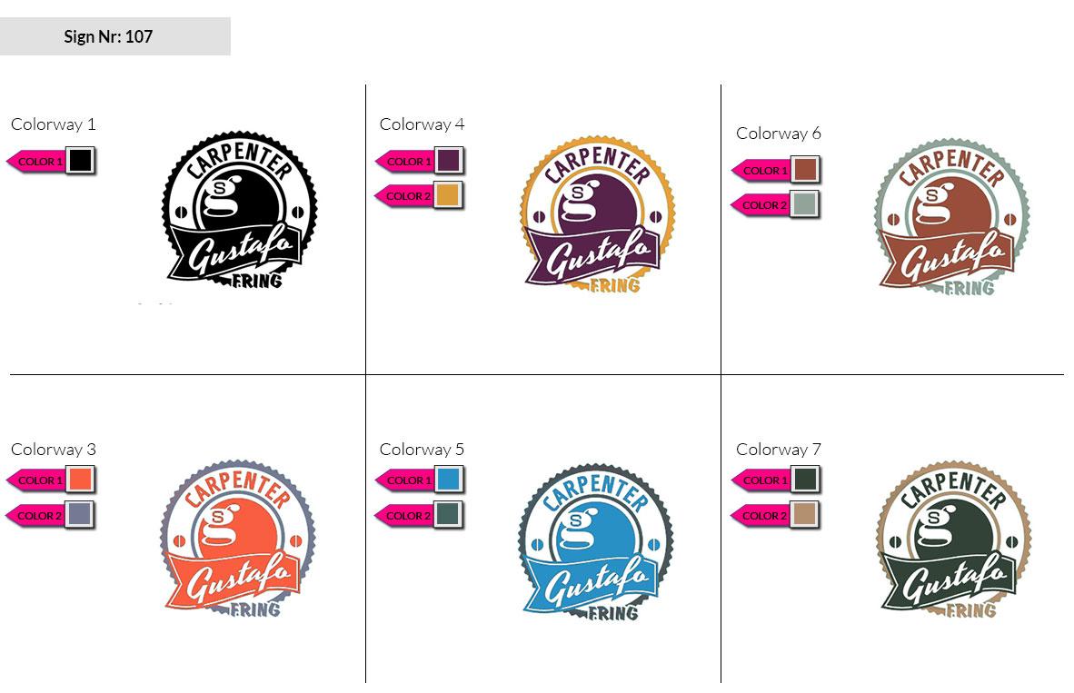 107 Make Look Branding Logo Smal Colorways 002