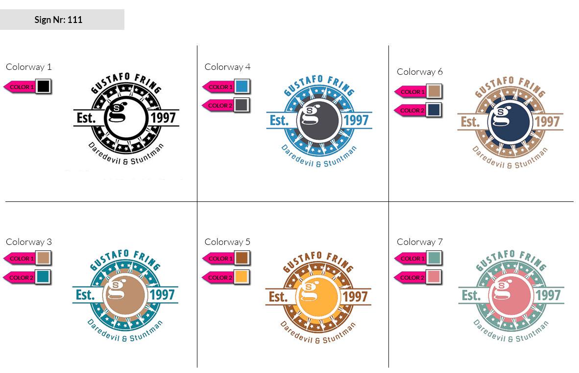 111 Make Look Branding Logo Smal Colorways 002