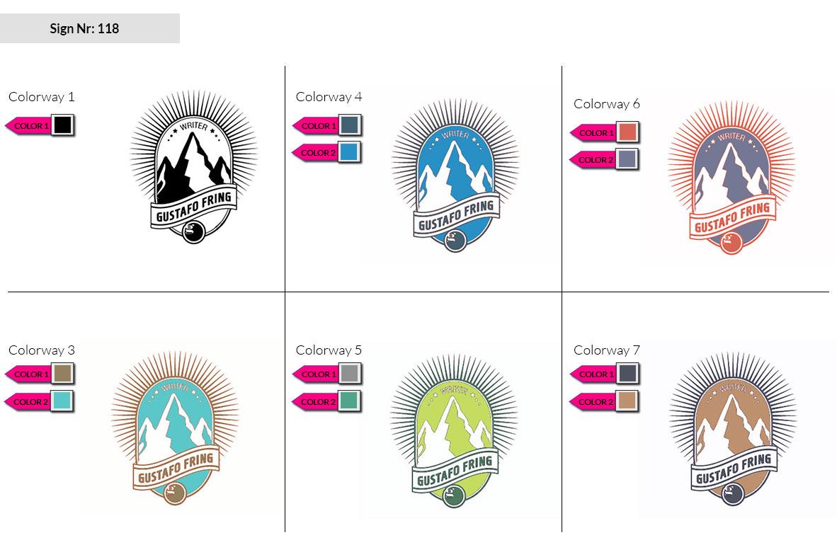 118 Make Look Branding Logo Smal Colorways 002