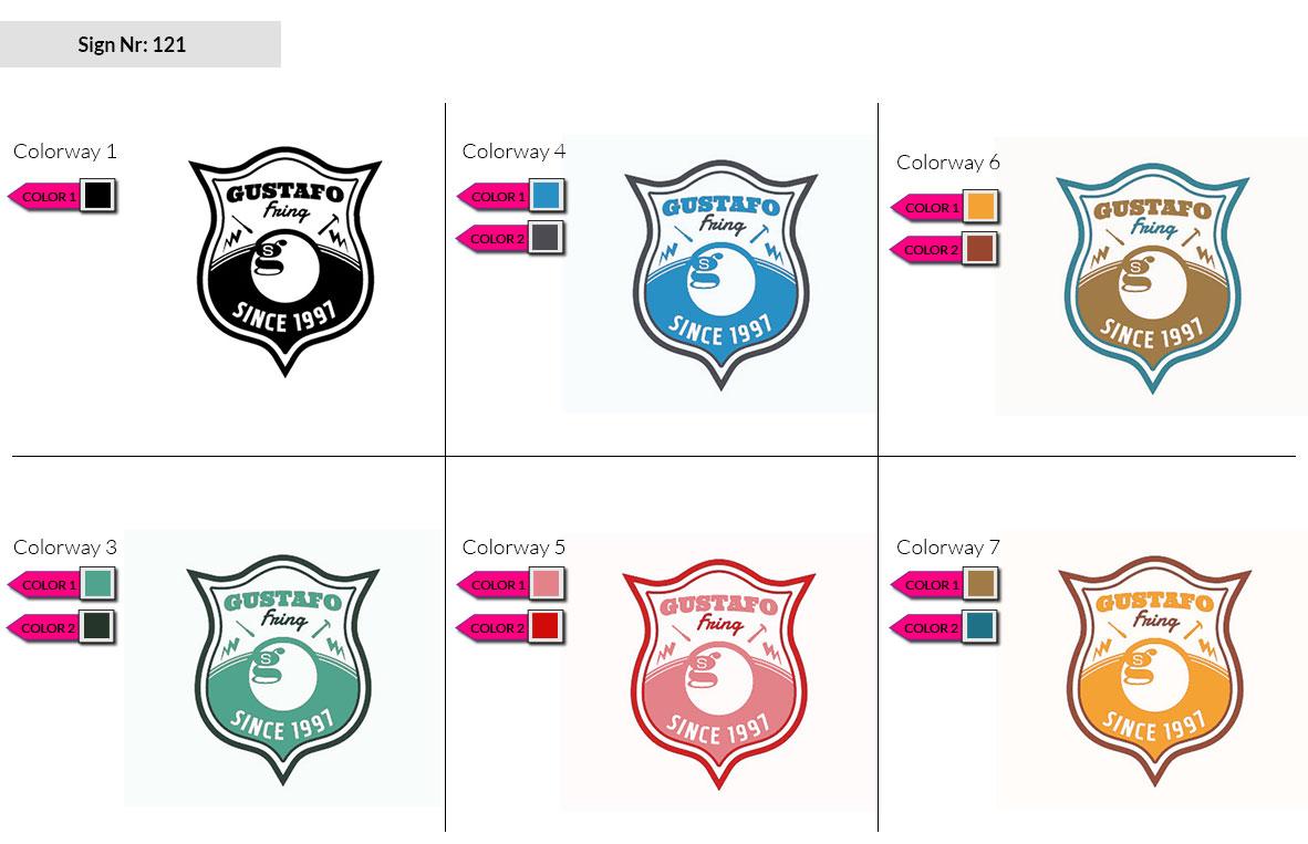 121 Make Look Branding Logo Smal Colorways 002