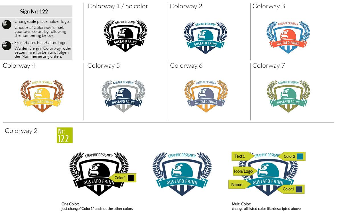 122 Make Look Branding Logo Smal Colorways 001