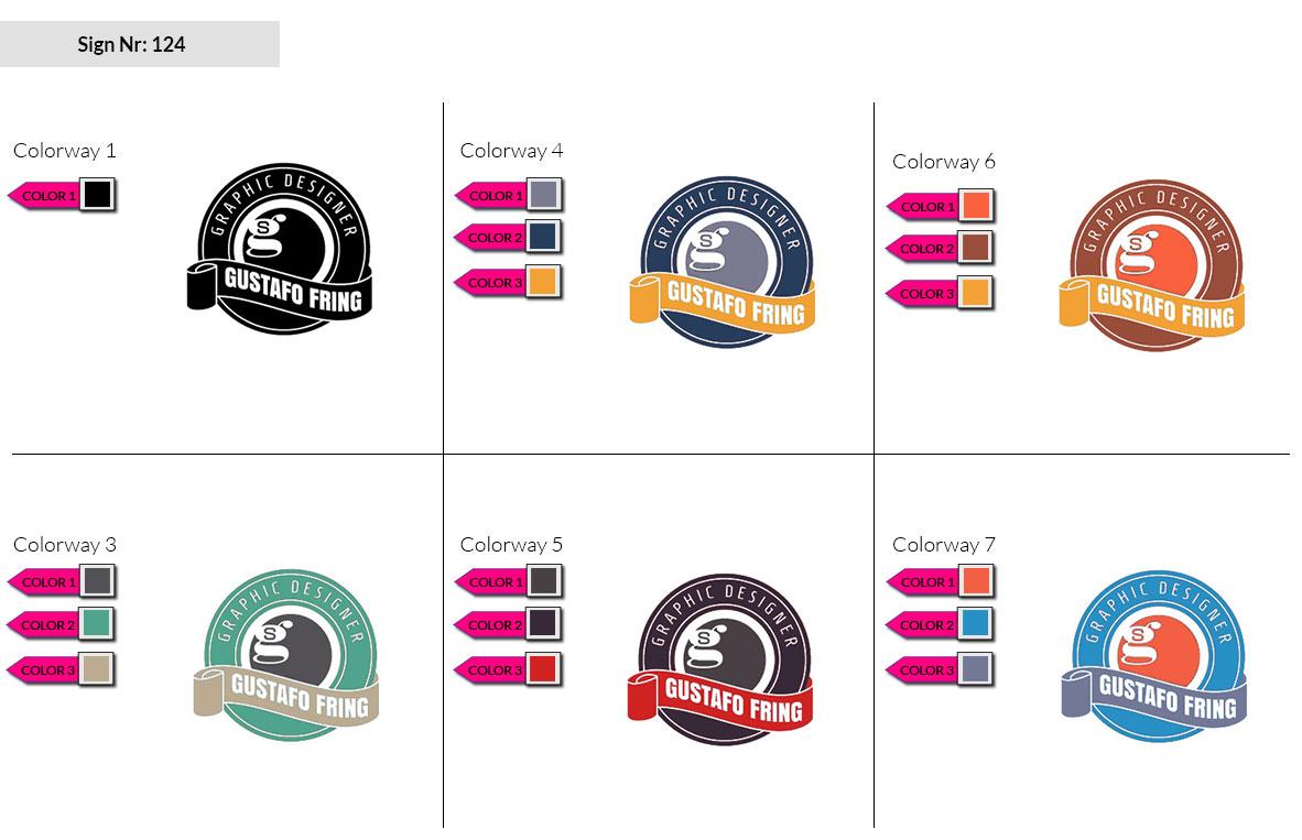 124 Make Look Branding Logo Smal Colorways 002