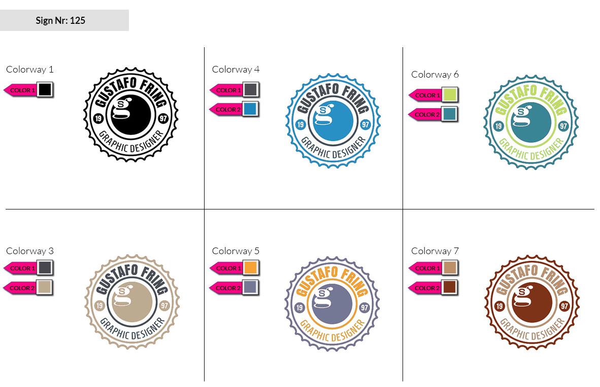 125 Make Look Branding Logo Smal Colorways 002