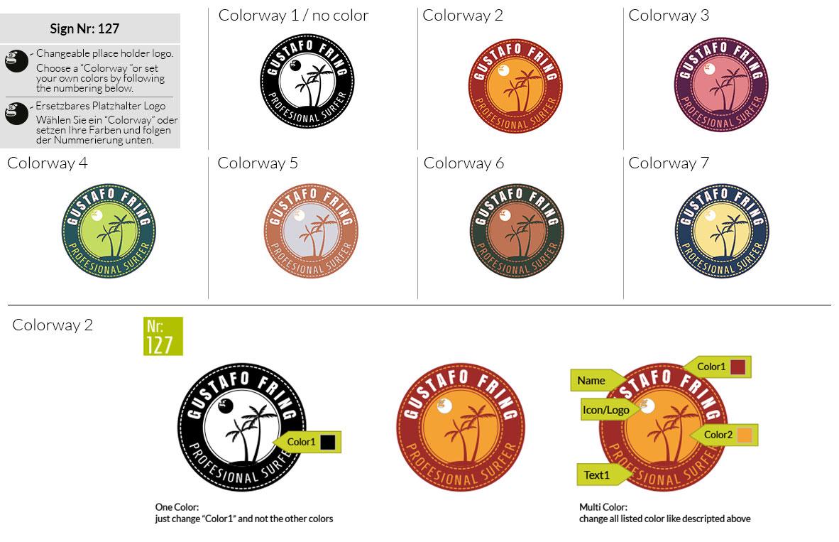 127 Make Look Branding Logo Smal Colorways 001