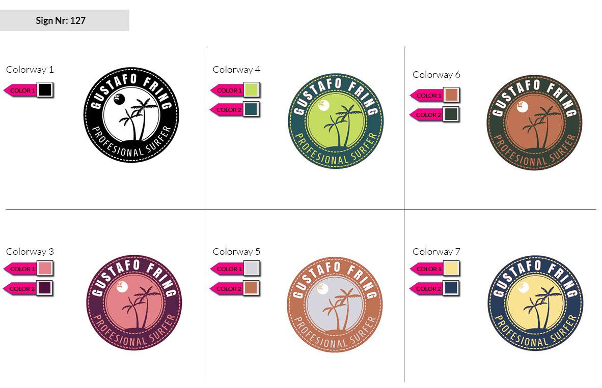 127 Make Look Branding Logo Smal Colorways 002