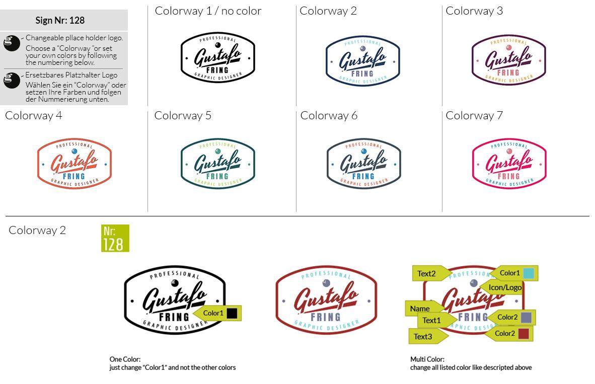 128 Make Look Branding Logo Smal Colorways 001