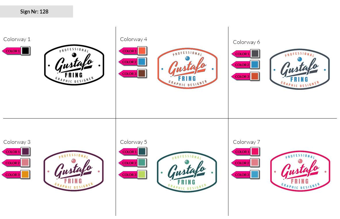 128 Make Look Branding Logo Smal Colorways 002