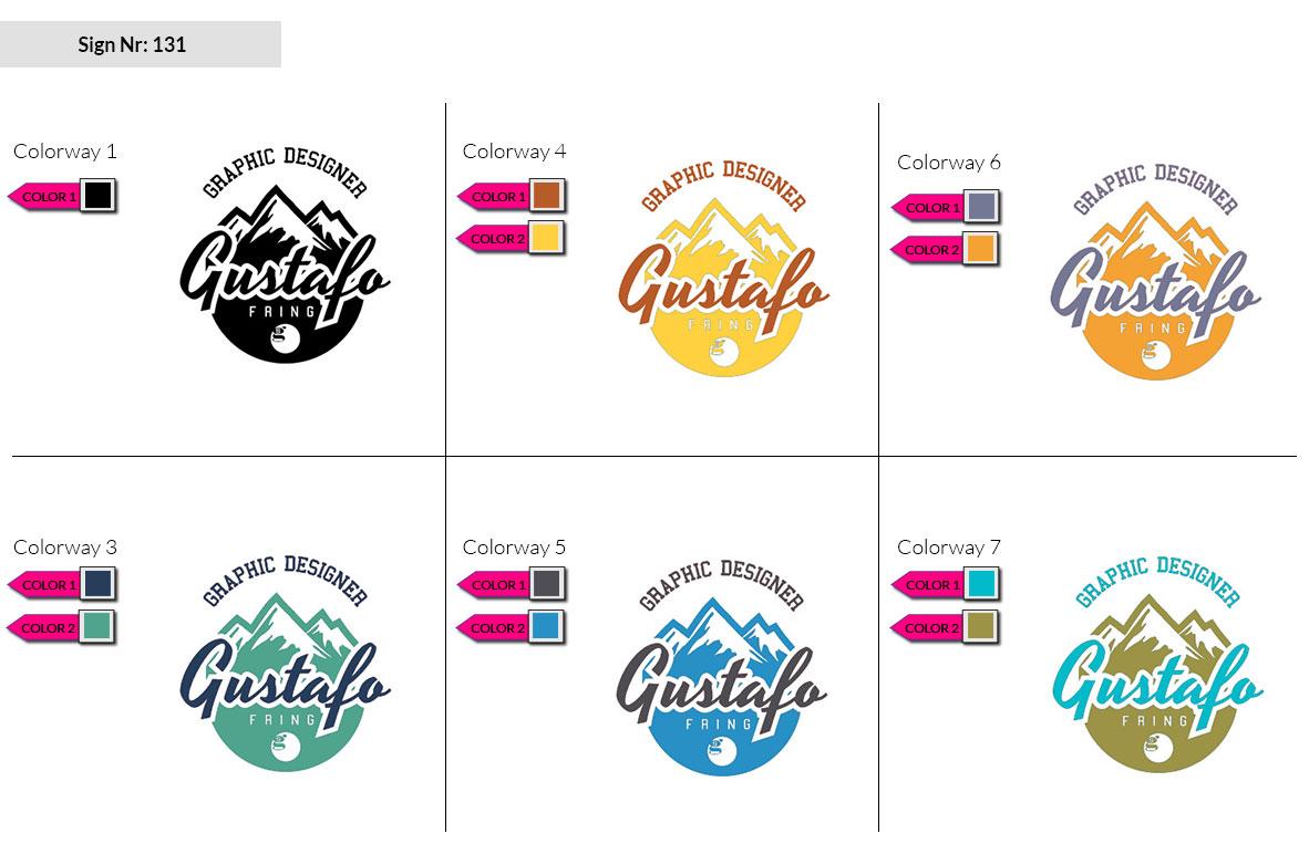 131 Make Look Branding Logo Smal Colorways 002