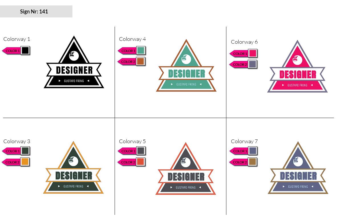 141 Make Look Branding Logo Smal Colorways 002