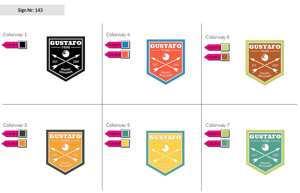 143 Make Look Branding Logo Smal Colorways 002