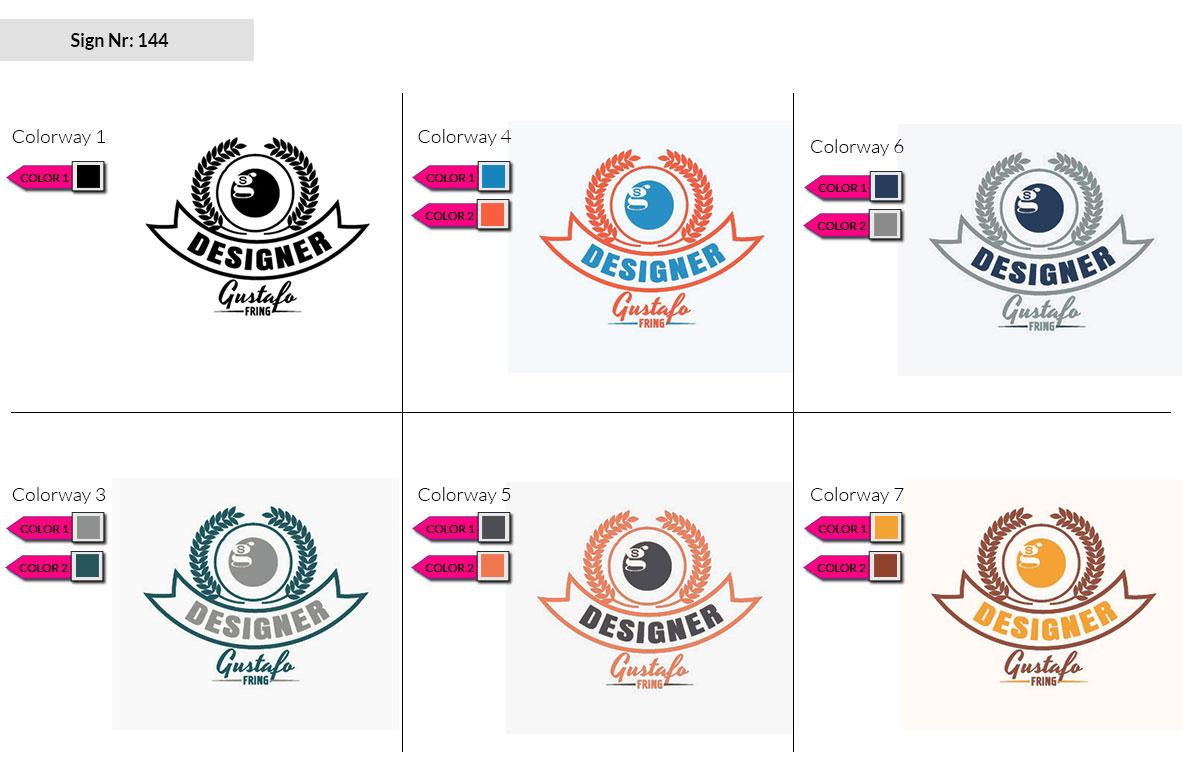 144 Make Look Branding Logo Smal Colorways 002
