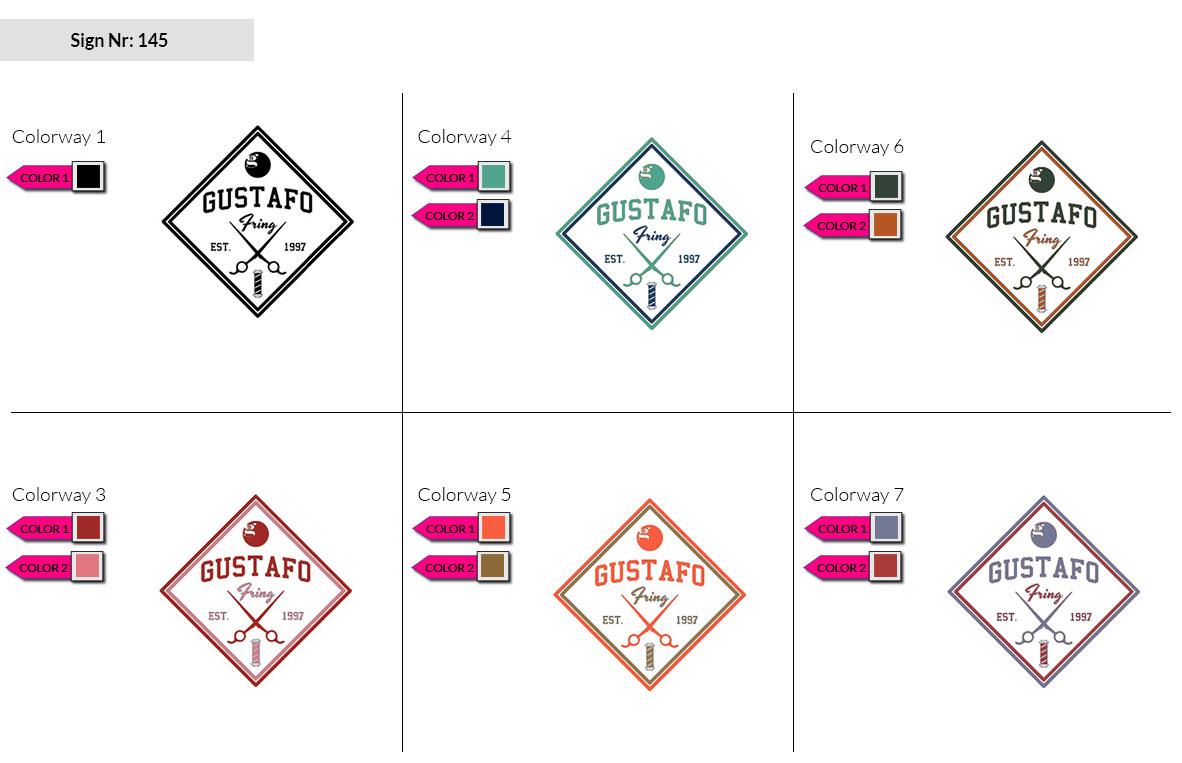 145 Make Look Branding Logo Smal Colorways 002