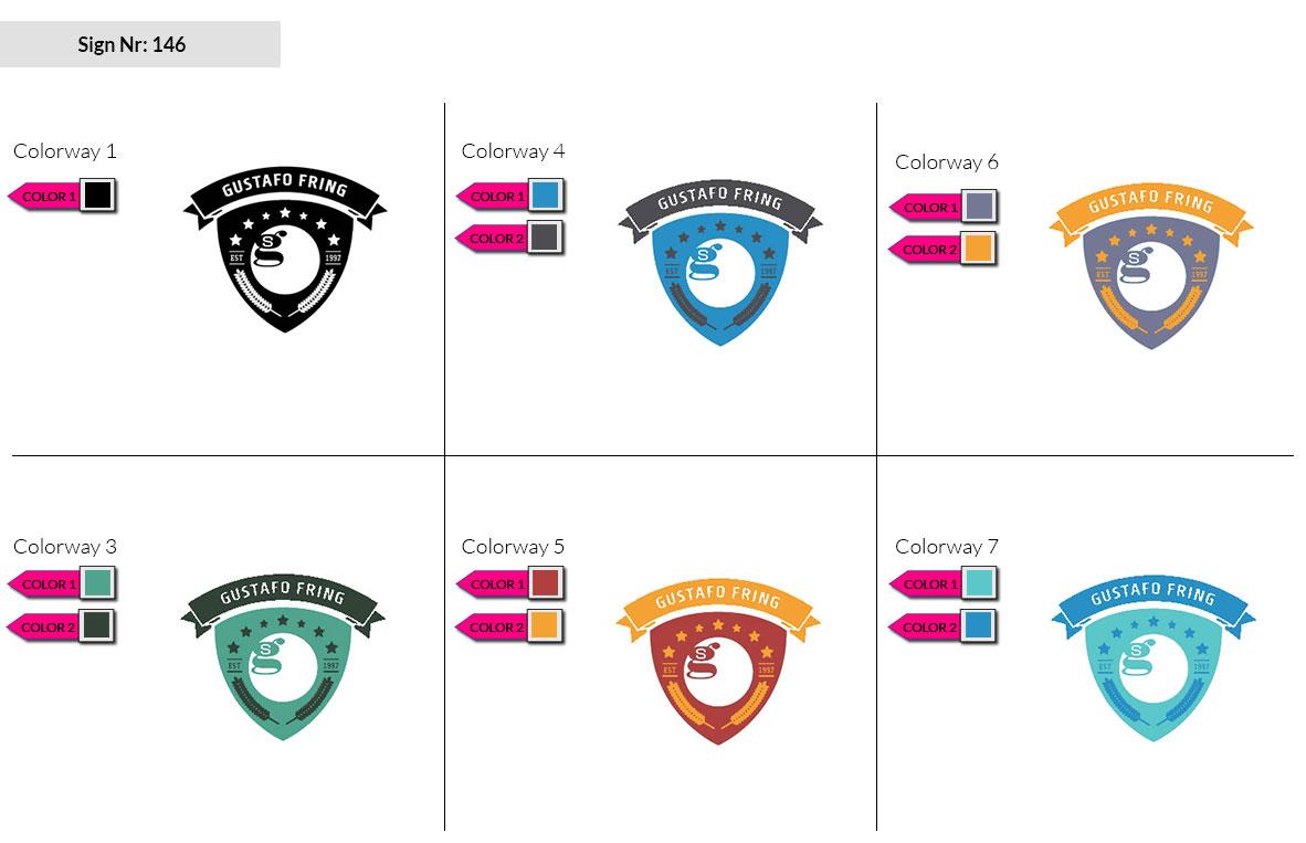 146 Make Look Branding Logo Smal Colorways 002