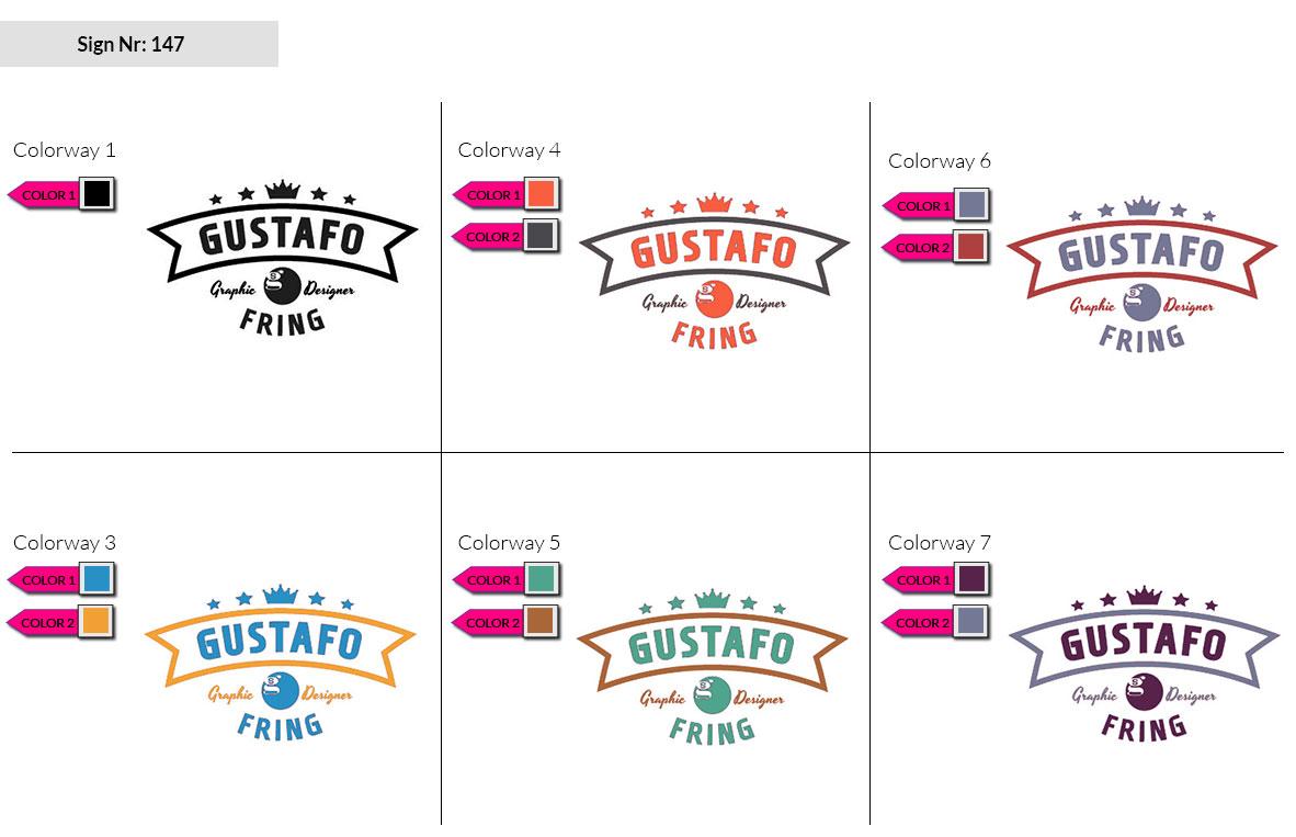147 Make Look Branding Logo Smal Colorways 002