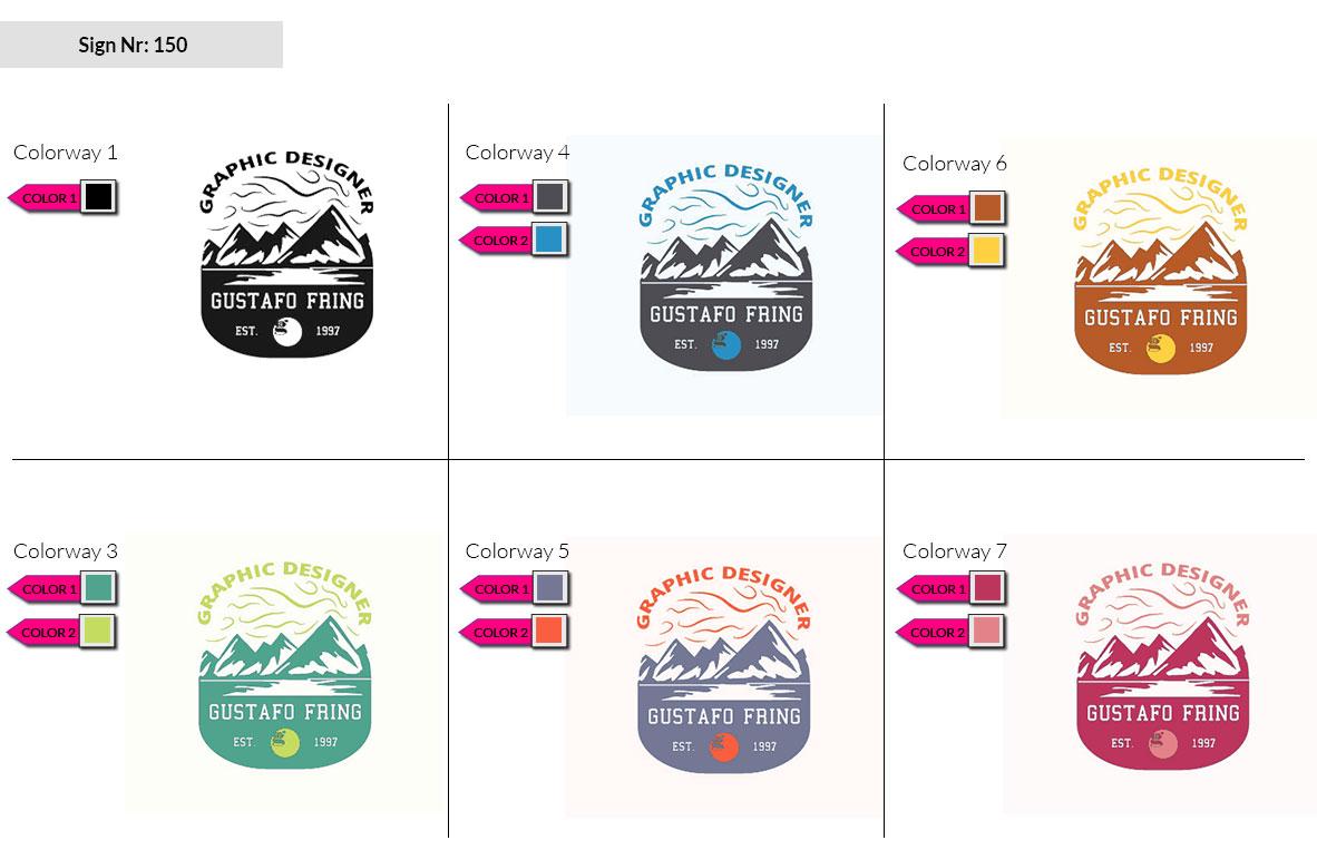 150 Make Look Branding Logo Smal Colorways 002