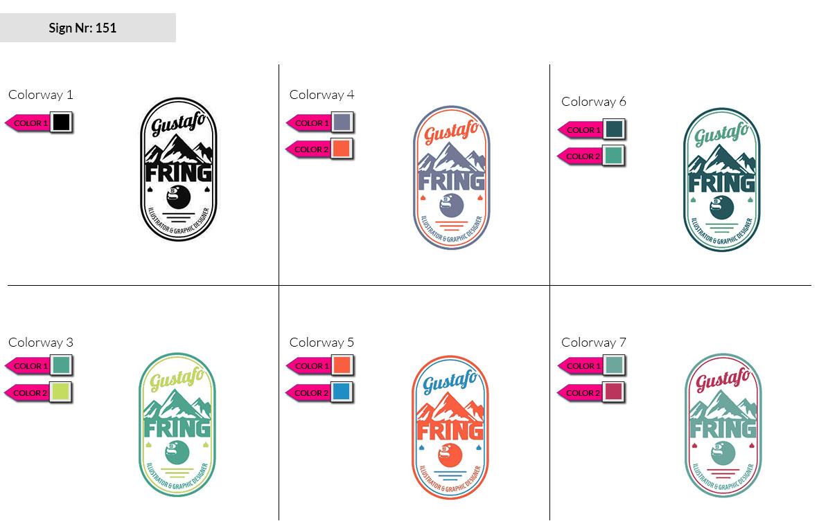 151 Make Look Branding Logo Smal Colorways 002