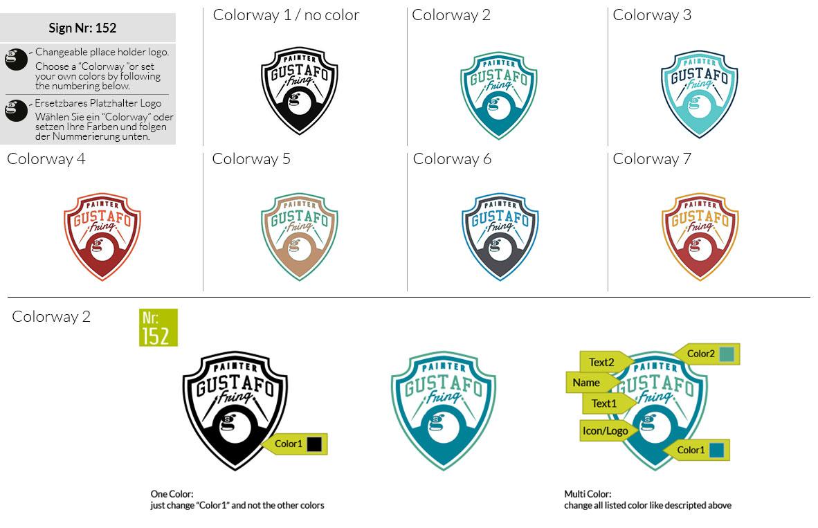 152 Make Look Branding Logo Smal Colorways 001