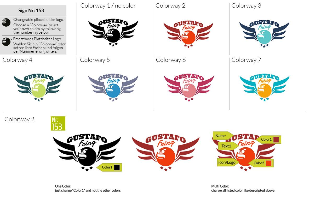 153 Make Look Branding Logo Smal Colorways 001