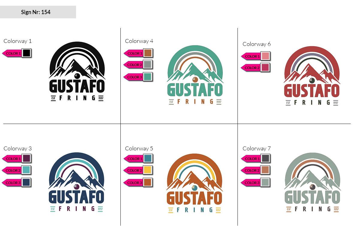 154 Make Look Branding Logo Smal Colorways 002