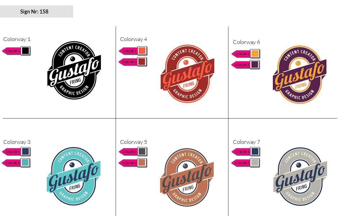 158 Make Look Branding Logo Smal Colorways 002