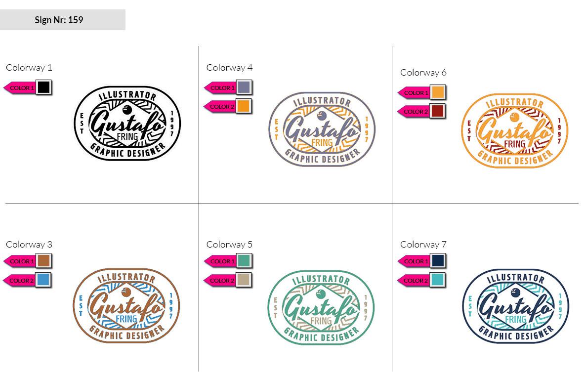 159 Make Look Branding Logo Smal Colorways 002