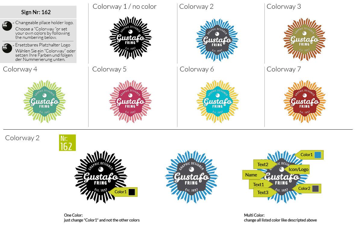 162 Make Look Branding Logo Smal Colorways 001
