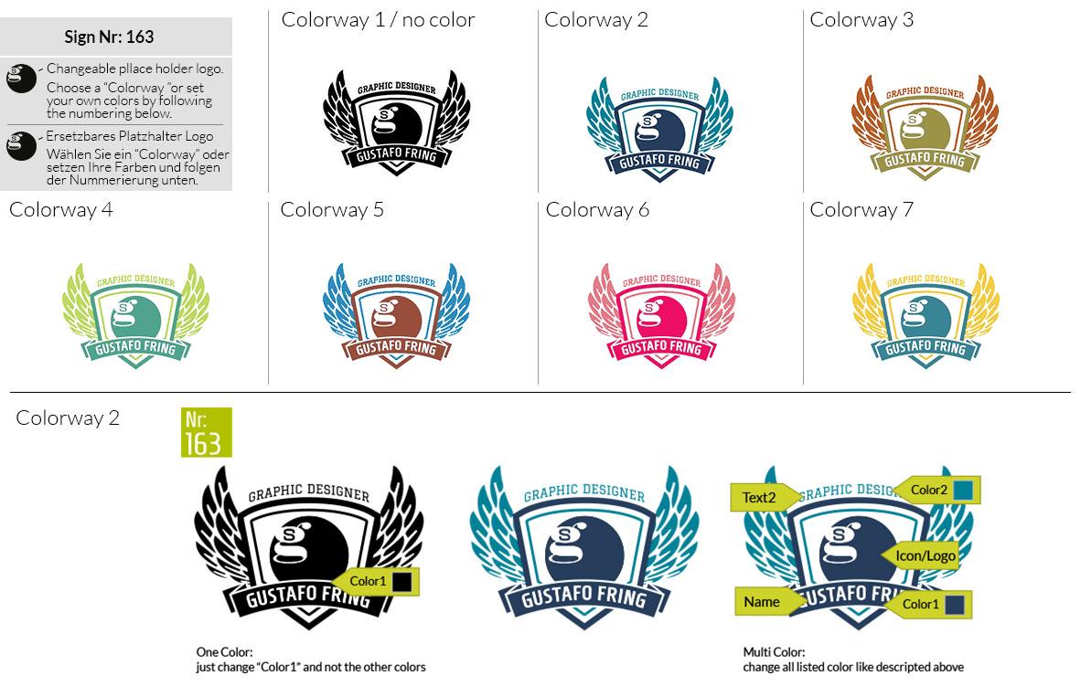 163 Make Look Branding Logo Smal Colorways 001