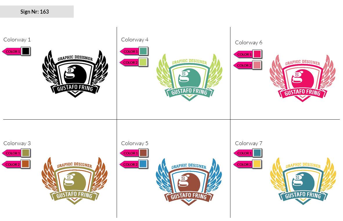 163 Make Look Branding Logo Smal Colorways 002
