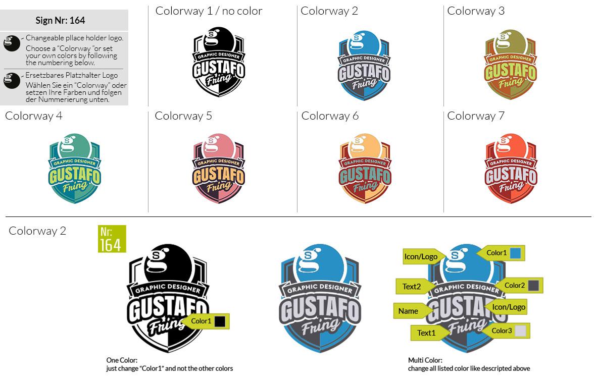 164 Make Look Branding Logo Smal Colorways 001