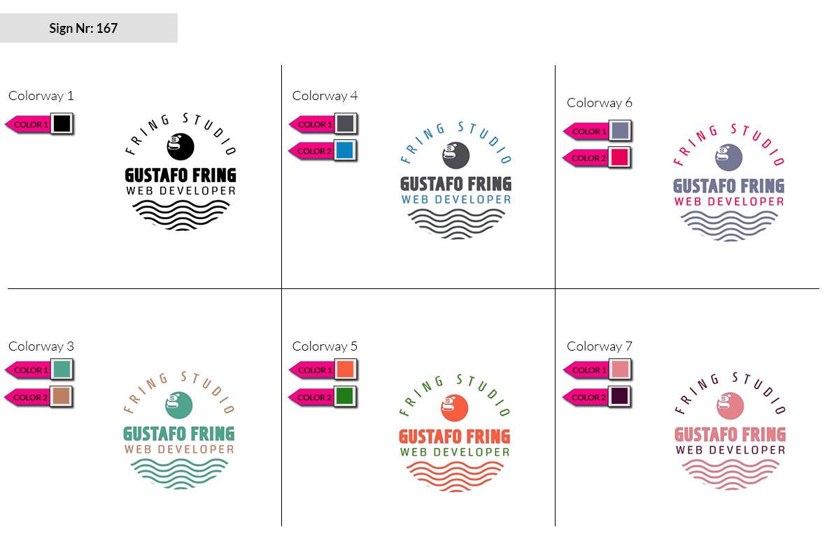 167 Make Look Branding Logo Smal Colorways 002