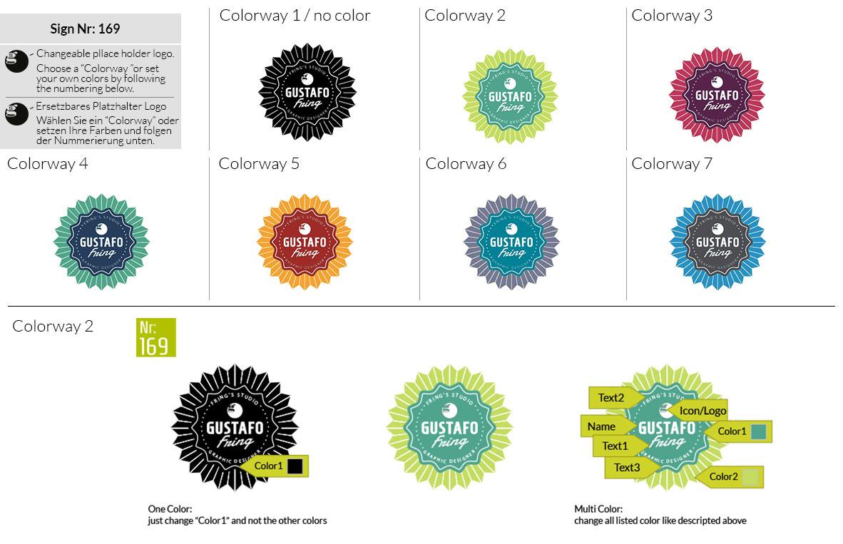 169 Make Look Branding Logo Smal Colorways 001
