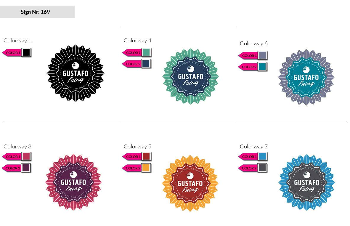 169 Make Look Branding Logo Smal Colorways 002