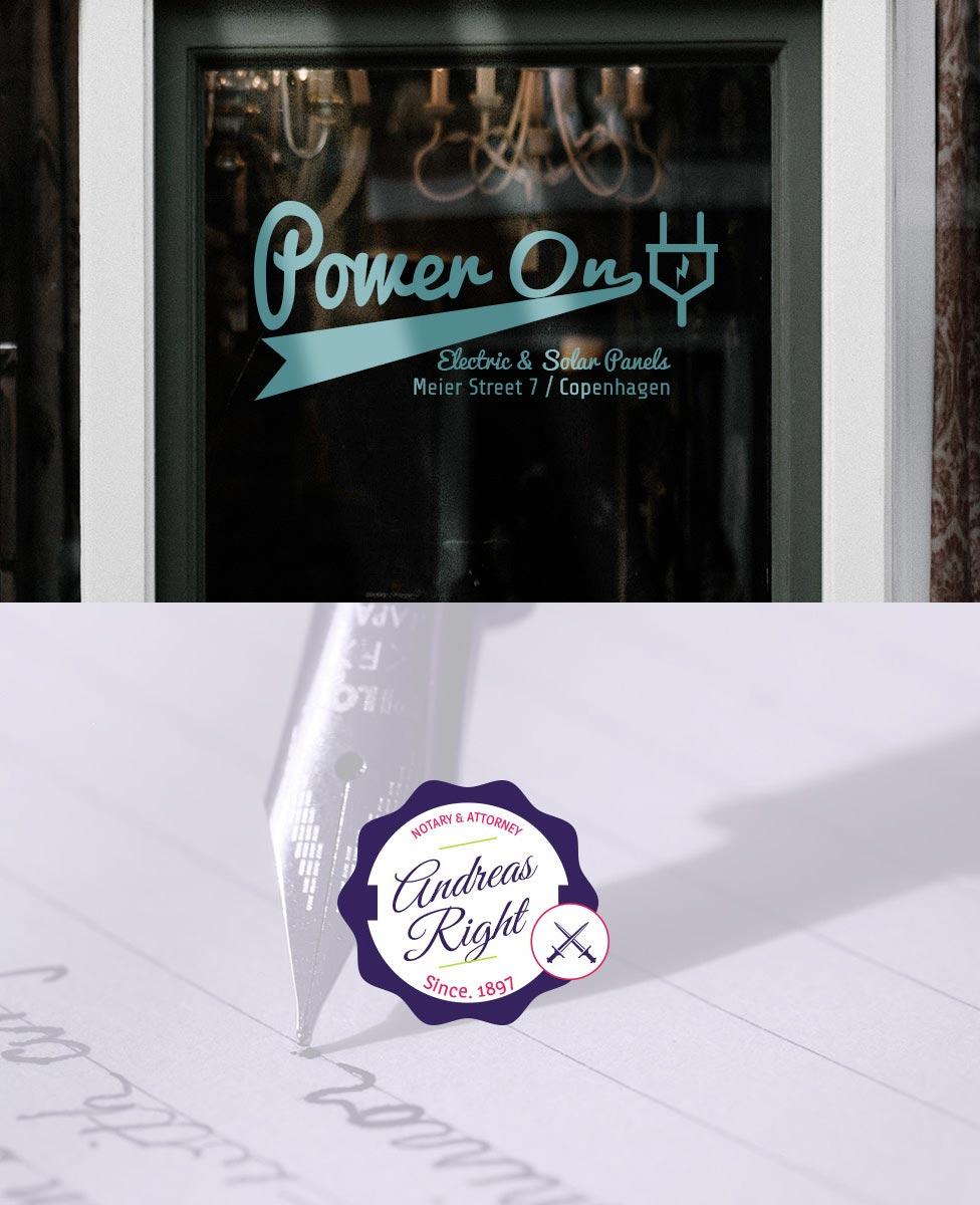 Logo Design Muenchen Corporated Entwerfen Gestalten Symbol Typografisch V2