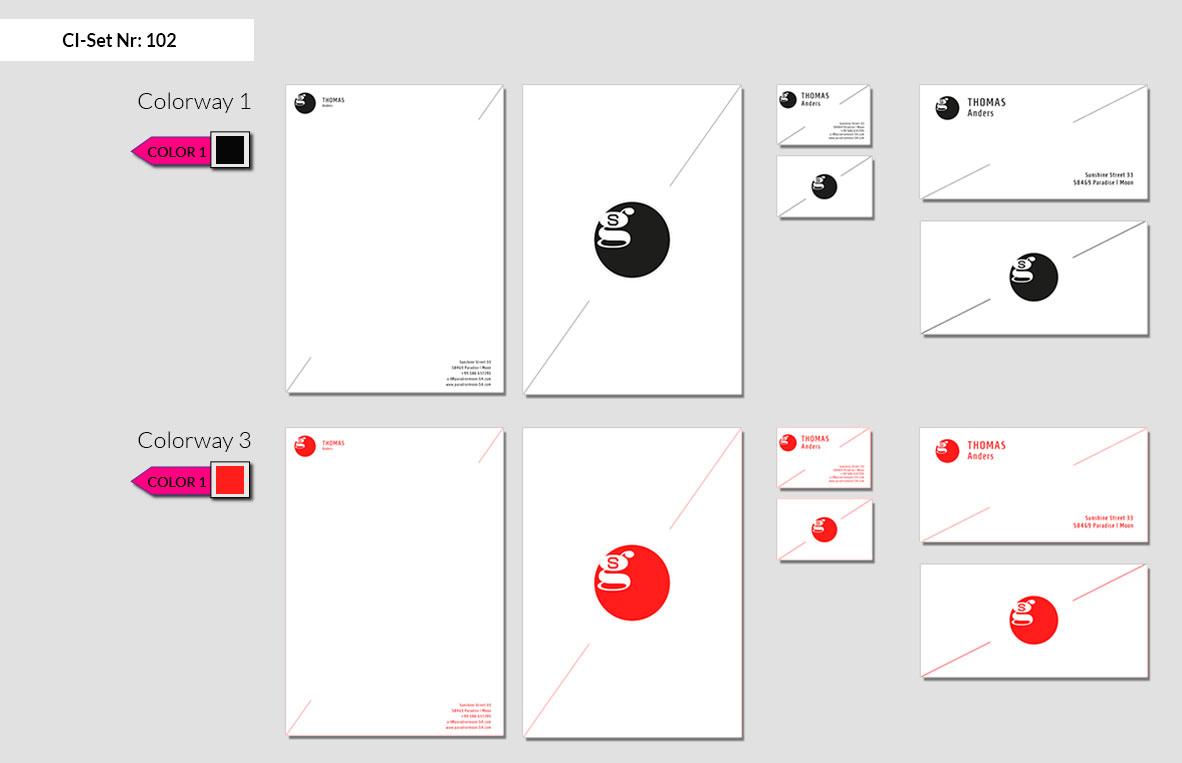 102 Stationery Corporate Design Geschaeftsausstattung Branding 2