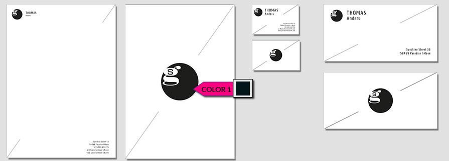 102 Stationery Corporate Design Geschaeftsausstattung Branding 3