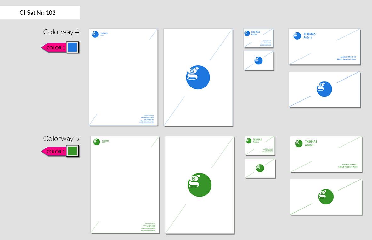 102 Stationery Corporate Design Geschaeftsausstattung Branding 5
