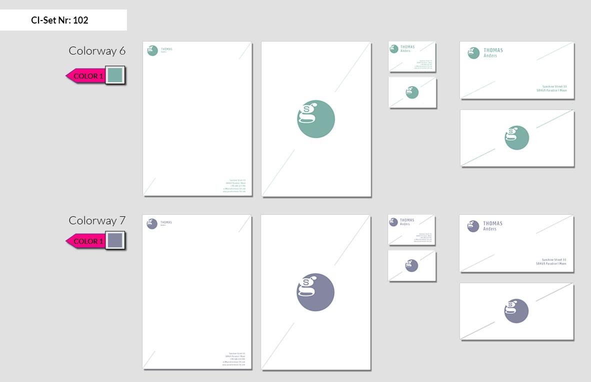 102 Stationery Corporate Design Geschaeftsausstattung Branding 6