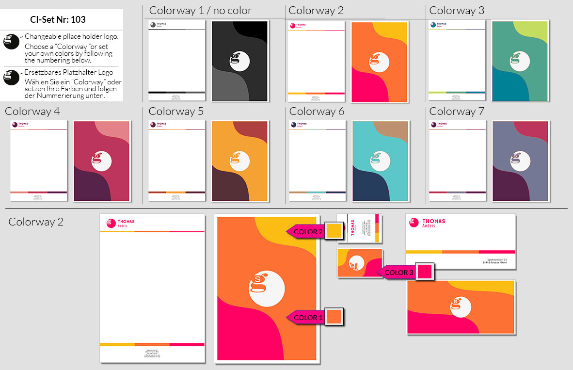 103 Stationery Corporate Design Geschaeftsausstattung Branding 3
