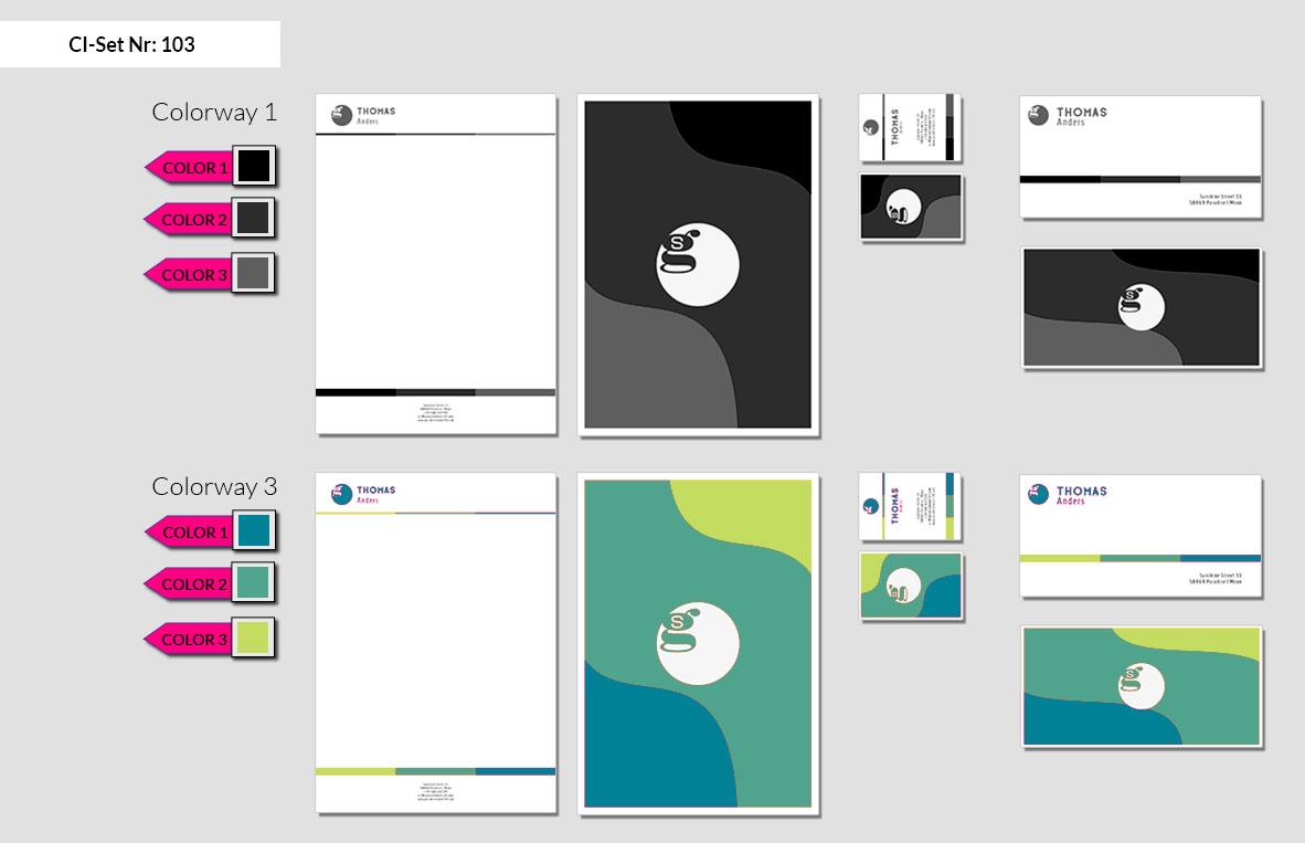 103 Stationery Corporate Design Geschaeftsausstattung Branding 4