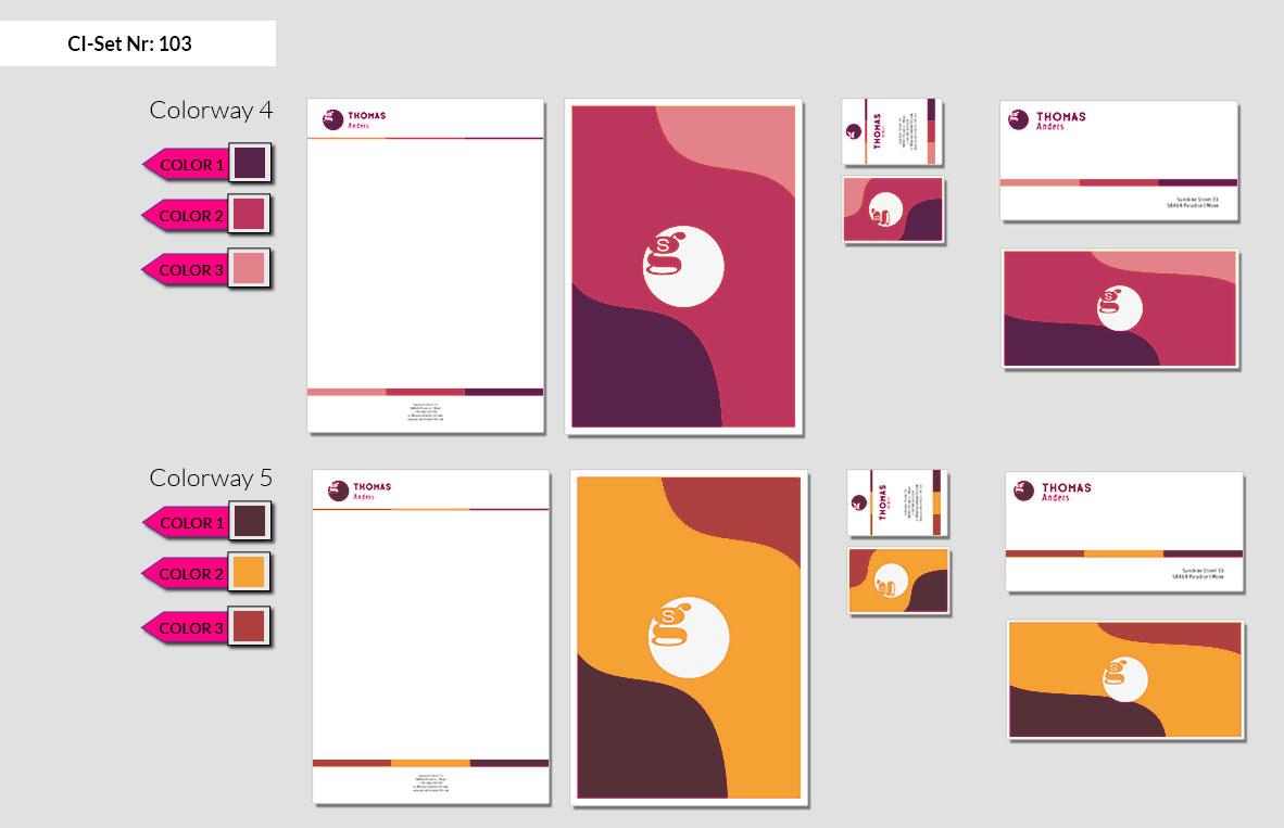103 Stationery Corporate Design Geschaeftsausstattung Branding 5