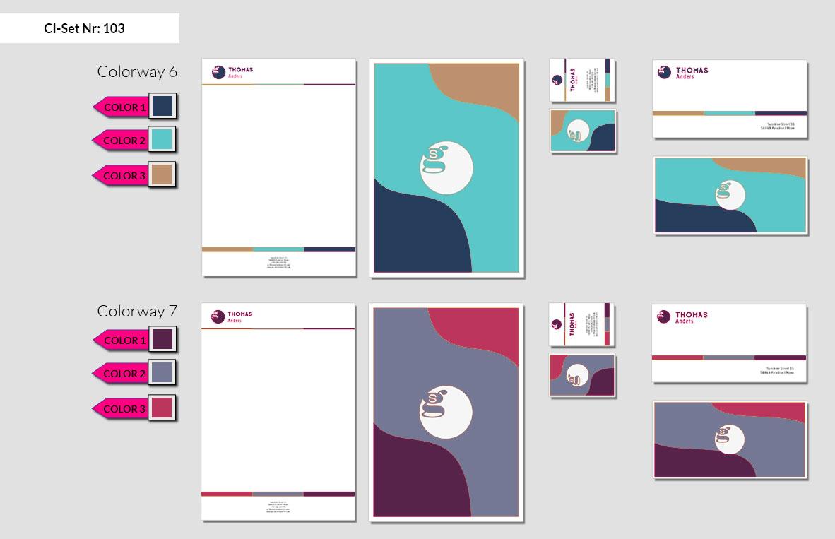 103 Stationery Corporate Design Geschaeftsausstattung Branding 6
